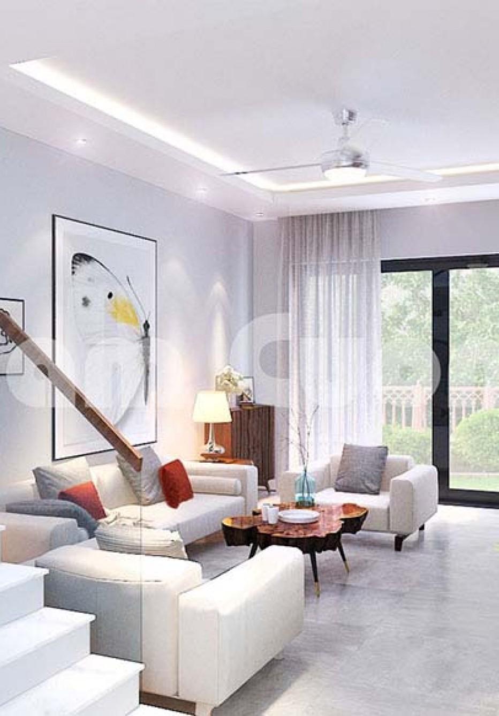 Không gian nội thất nhà ống 3 tầng hiện đại đẹp