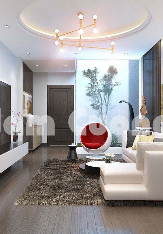 Mẫu thiết kế nội thất nhà ống 5 tầng hiện đại nổi bật