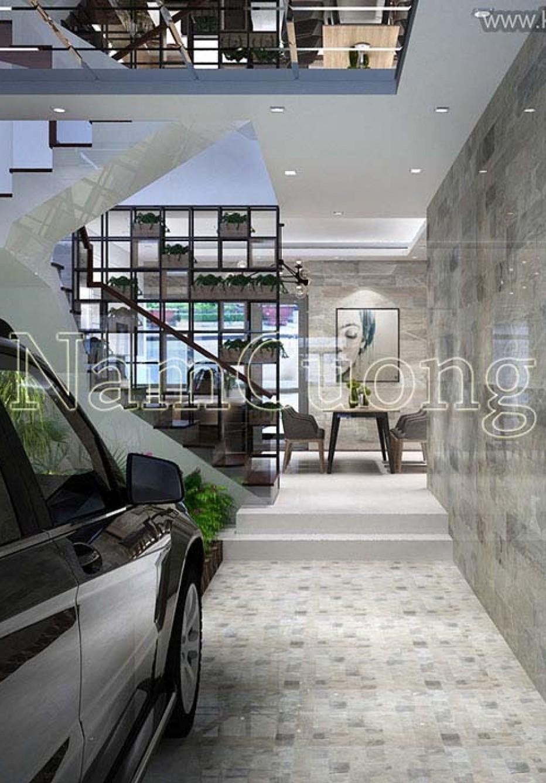 Mẫu thiết kế nội thất nhà ống hiện đại cao cấp
