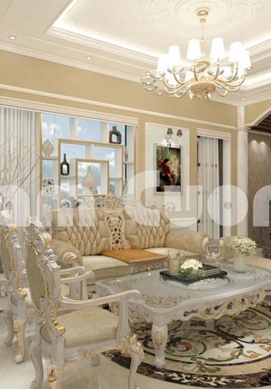 Hoành tráng công trình nội thất nhà vườn châu âu