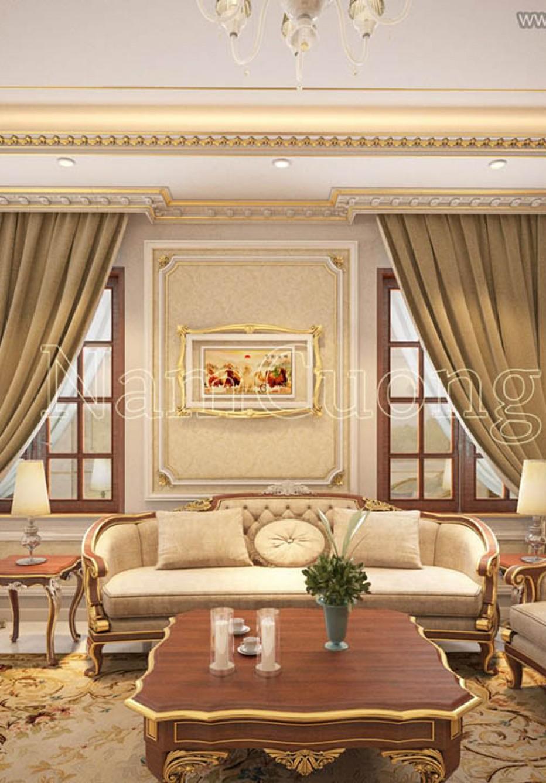 Mẫu nội thất căn hộ phong cách Châu  Âu đẹp mê mẩn