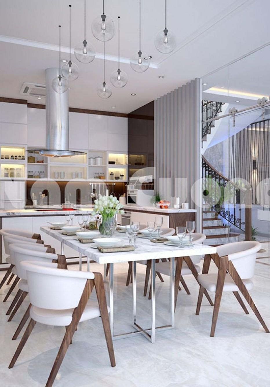 Tìm hiểu phong cách ấn tượng trong thiết kế nội thất phòng ăn