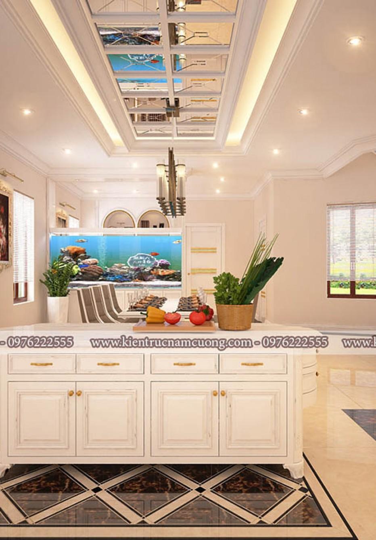 Top 10 mẫu thiết kế phòng bếp có bàn đảo khiến chị em mê mẩn