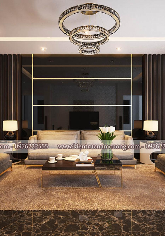 Lặng người trước vẻ đẹp của mẫu nội thất biệt thự hiện đại 3 tầng