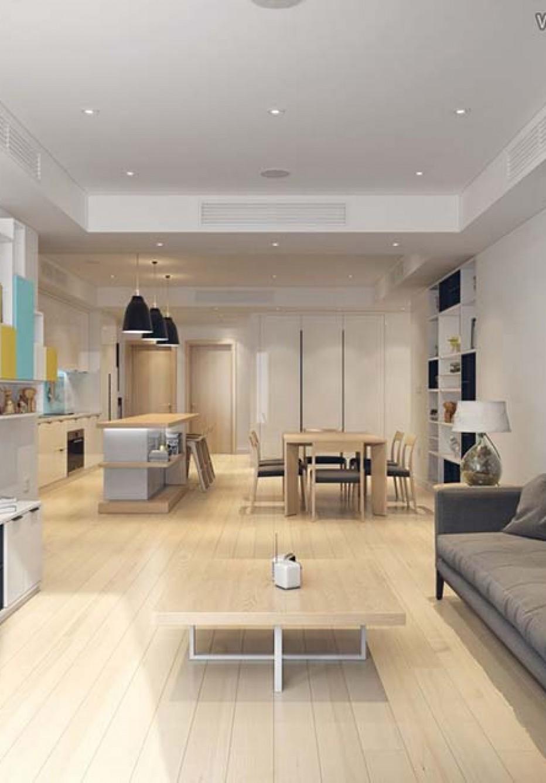 Mẫu thiết kế căn hộ cho người nước ngoài thuê hiện đại