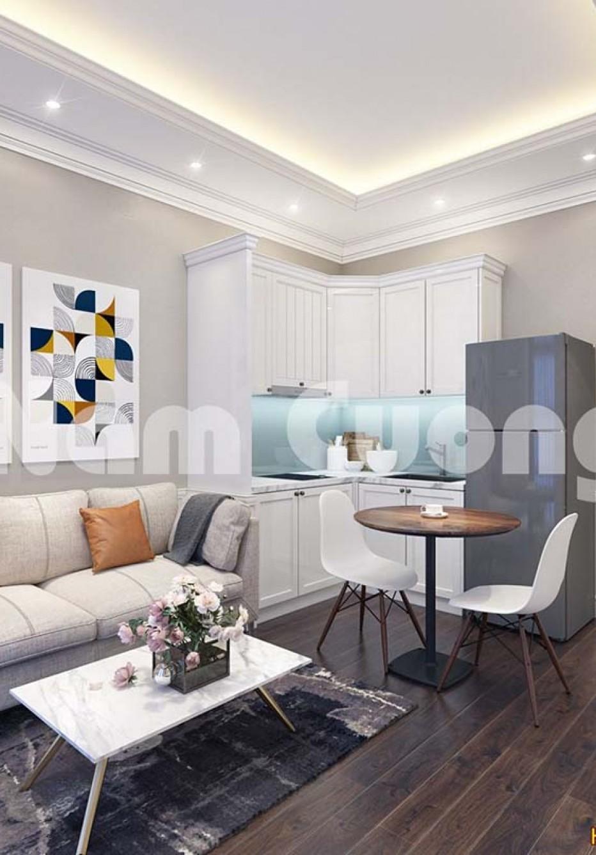 Mẫu thiết kế căn hộ cho thuê đẹp