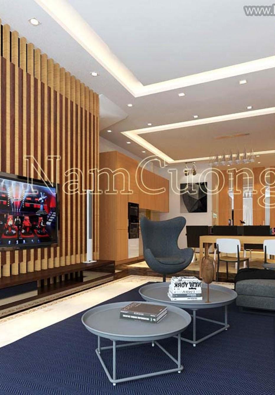 Mẫu thiết kế chung cư 40m2 1 phòng ngủ mới nhất 2021