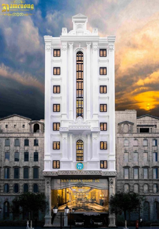 Mẫu thiết kế nhà ở kết hợp kinh doanh 11 tầng cực chất