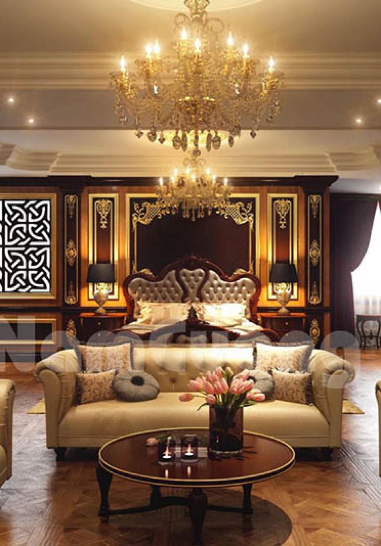 Mẫu thiết kế nội thất biệt thự bằng gỗ ấn tượng
