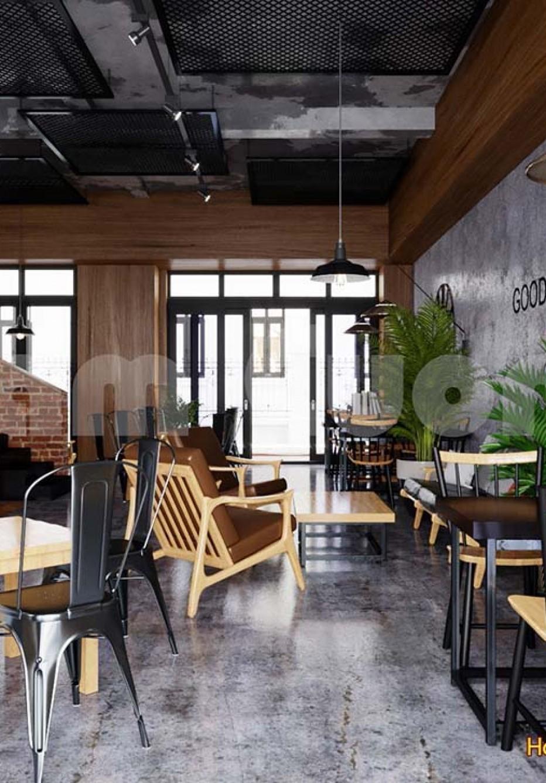 Mẫu thiết kế quán cafe ăn sáng tiện lợi