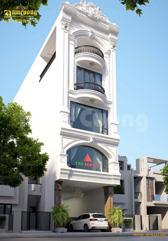 Thiết kế tòa nhà làm việc cho công ty bất động sản
